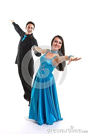 Ballroom Dancers L Blue 02
