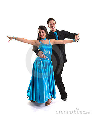 Ballroom Dancers L Blue 03