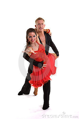 Ballroom Dancers Latin 05