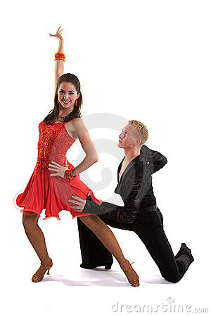 Ballroom Dancers Latin 07