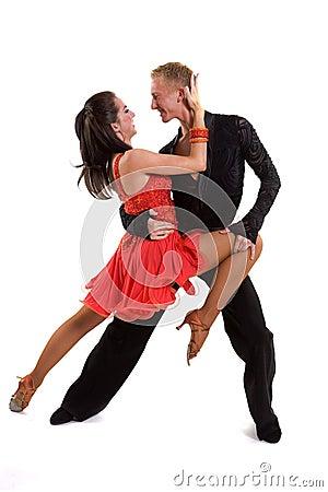 Free Ballroom Dancers Latin 08 Stock Photography - 14005082