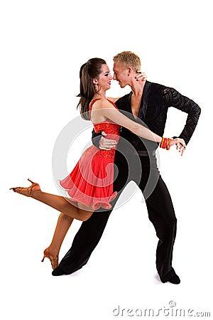 Ballroom Dancers Latin 13