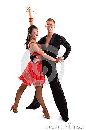 Free Ballroom Dancers Latin 14 Royalty Free Stock Photos - 14005138