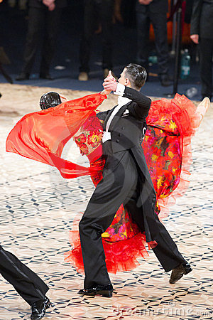 Ballroom Standard Dancers Editorial Image