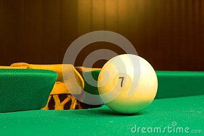 Balls For Game In The Russian Billiards Royalty Free Stock Photo - Image: 7966465