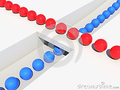 Balls queue