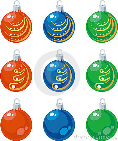 Free Balls Set Color 01 Royalty Free Stock Photos - 11039708