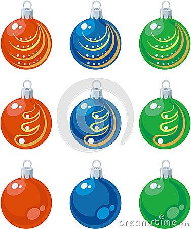 Balls set color 01