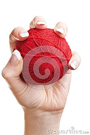 Balls of thread