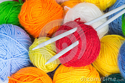 How To Add New Ball of Yarn (knitting tutorial) - YouTube