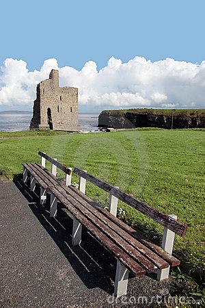 Ballybunion castle view