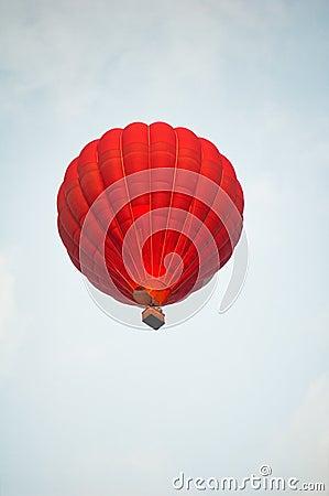 Balonowa czerwień