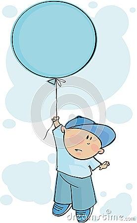 Balonowy błękit
