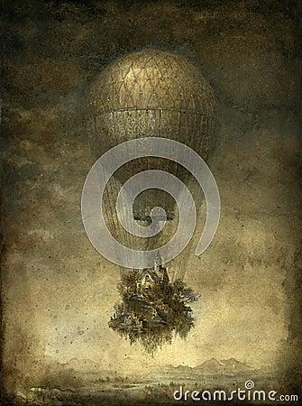 Balonowy surrealistyczny