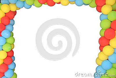 Baloon frame
