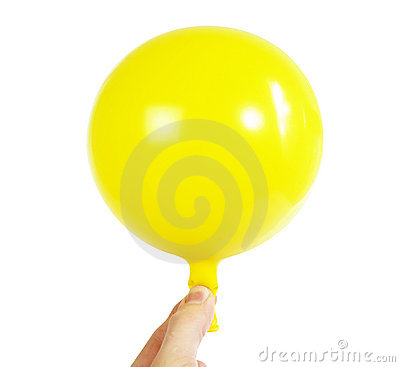 Baloon in Hand