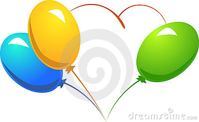 Baloon heart