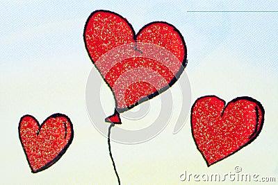 Baloon hearts