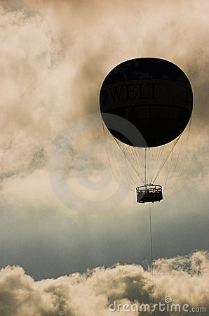Baloon silhouette