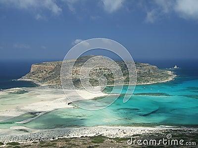 Balos Bay, Crete, Greece