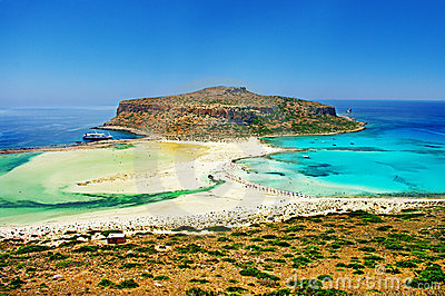 Balos bay (Greece)