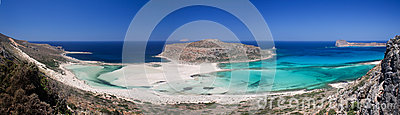 Balos Beach, Gramvousa peninsula, Crete, Greece