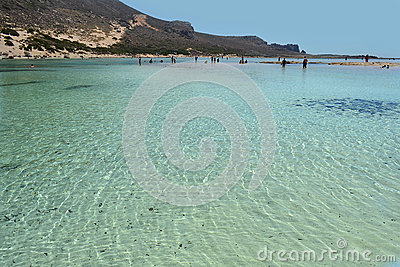 Balos in Crete, Greece