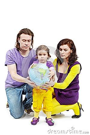 Balowa córki ziemi ojca chwyta matka