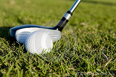 Balowego klubu farwateru golf