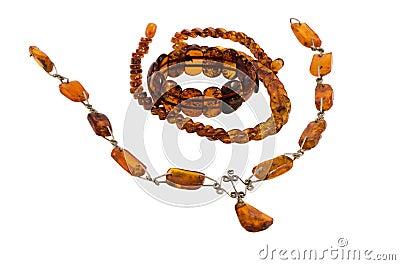 Baltic amber stone jewelry necklaces bracelet