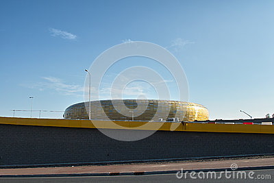 Baltic Arena Stadium Editorial Stock Image