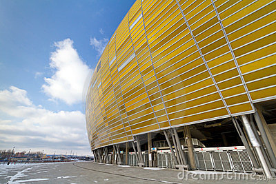 Baltic Arena stadium in Gdansk Editorial Photo