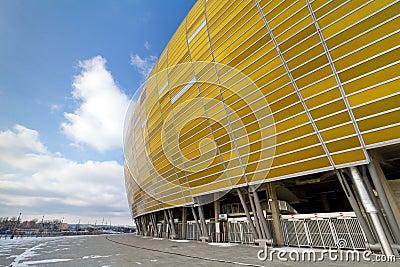 Baltic Arena stadium in Gdansk Editorial Photo