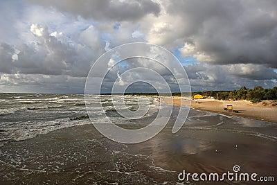 Baltic beach.