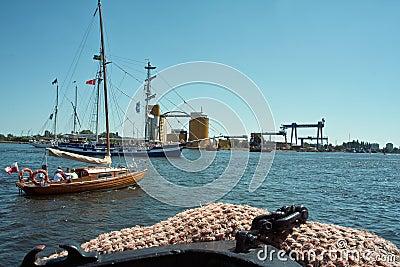 Baltic sail 2010. Editorial Image