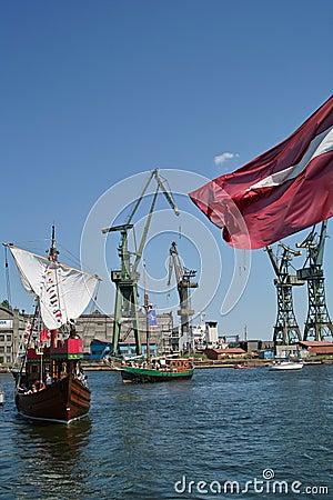 Baltic sail 2010. Editorial Stock Photo