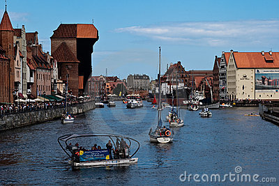Baltic Sail Gdansk 2009. Editorial Stock Image