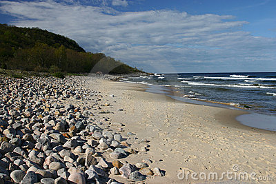 Baltic sea, Stenshuvud, Sweden