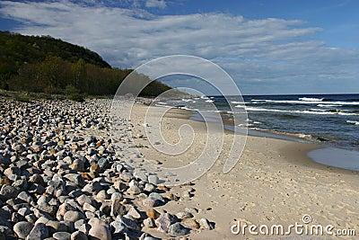 Baltic sea, Stenshuvud, Sweden