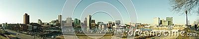 Baltimore Inner Harbor Editorial Photo