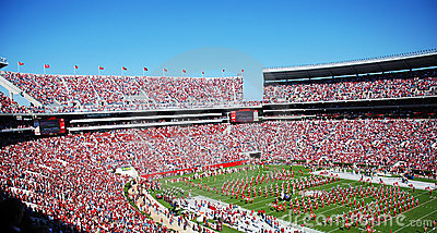 Bama Football Game Editorial Stock Photo
