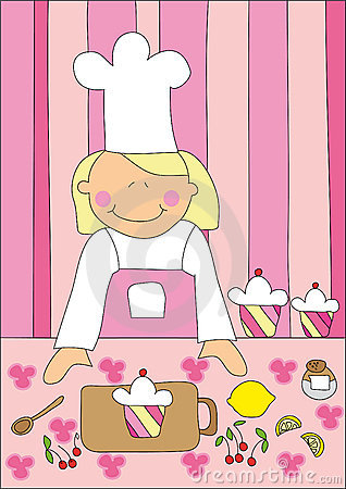 Bambina e torta