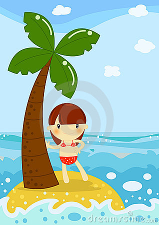 Bambina in Palm Beach