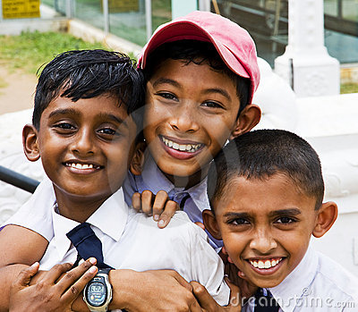 Bambini Immagine Editoriale