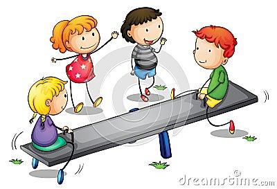 Bambini del movimento alternato
