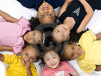 Bambini di infanzia