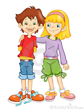 Bambini ed amicizia
