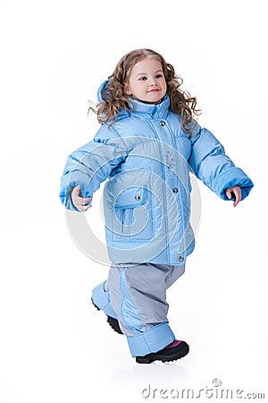 Bambini in vestiti alla moda