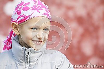 Bambino con cancro