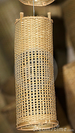Bamboo тень светильника